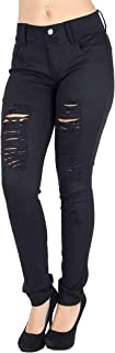 Jack David/Sweet Look/Pasion Womens Plus Size Acid Wash Distressed Ripped Blue Skinny Denim Jeans Pants Super Plus Size 14-34