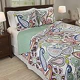 Lavish Home Lizzie 3 Piece Quilt Set - Full/Queen