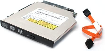 Genuine Dell IDE Slim 8x DVD±RW Optical Drive Burner Slimline IDE to SATA Converter, and Tray with Free SATA Cable Compatible Systems: Optiplex : 740, 745, 755 Dimension 9200C, XPS 200 210