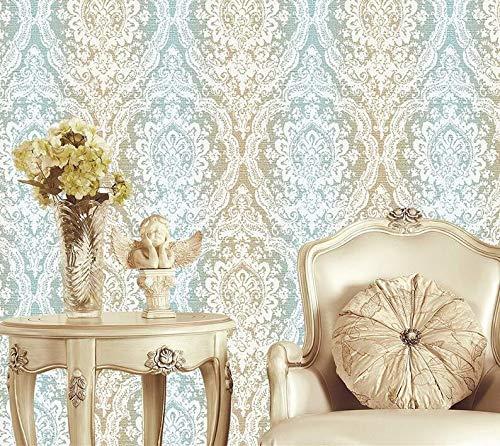 Top groot behang met patroon warm slaapkamer slaapkamer naast formaldehyde super dik vliesbehang 300 cm x 210 cm.