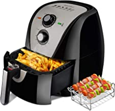 Secura Air Fryer XL 5.3 Quart 1700-Watt Electric Hot Air Fryers Oven Oil Free Nonstick..