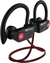 Bluetooth Headphones w/10+ Hours Battery - Lightweight, IPX7 Waterproof - Wireless Sport Earphones w/Mic - in-Ear Earbuds Powerbeats Style for Gym Running Workout for Men, Women