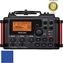 Tascam DR-60DmkII 4-Channel Portable Recorder for DSLR Filmmakers with 1 Year Free Extended Warranty