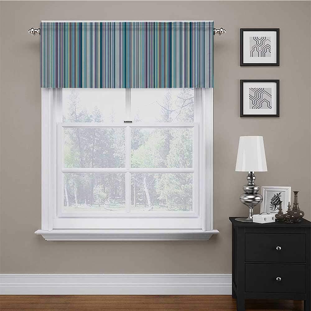 Window Curtains Blue Purple Teal Lavender Colored Aqua Vertical Latest item Cheap super special price