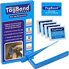 Micro TagBand has been designed to remove small to medium skin tags Application in four steps Available to purchase in two sizes Micro TagBand is suitable for use on all areas of the face and body apart from the sensitive eye area Kit include 1x Micr...