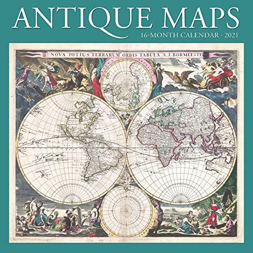 Antique Maps 2021 Calendar