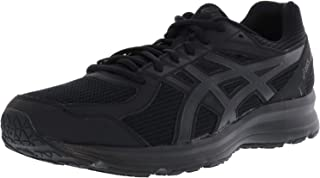 Asics Mens Jolt 4E Fabric Low Top Lace Up Running Sneaker