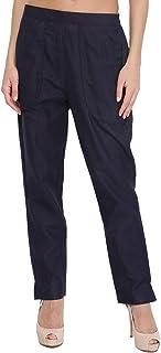 Shararat Women's Straight Fit Trouser