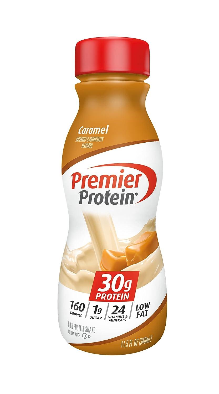 Premier Inexpensive Protein Fort Worth Mall 30g Shake oz Caramel fl 11.5