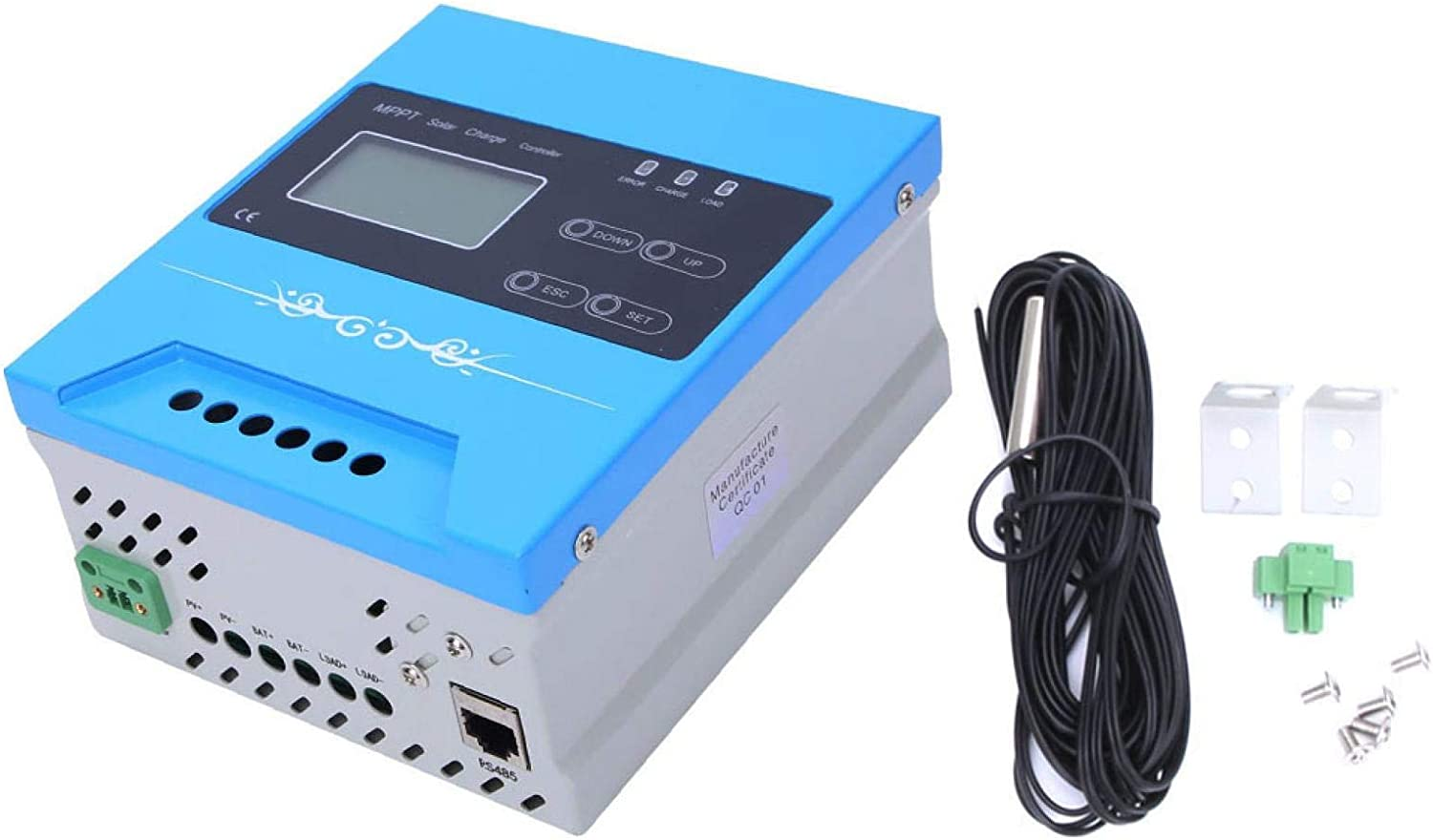 Demeras Sales of SALE items from new works Solar Charge Reliable OFFicial shop Regulator 24V Controller for MPPT
