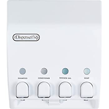 Better Living Products CLASSIC Dispenser, Four Chamber, White