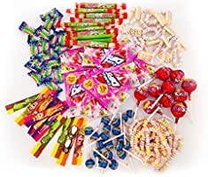 Chupa Chups Teen Party Mix 1kg: Zak met mix van 100 snoepjes, lollies en kauwgom in verschillende soorten en smaken –...
