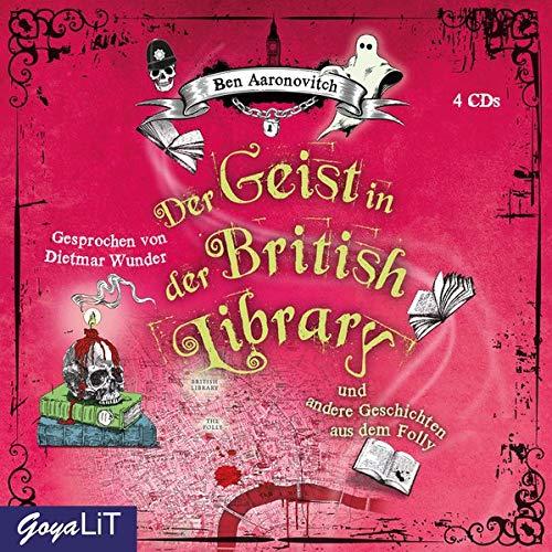 Der Geist in der British Library und andere Geschichten aus dem Folly (Peter Grant)