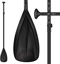 Overmont Kayak Paddle SUP Stand-up Paddleboard Heavy Duty Aluminum Alloy Lightweight Oar for Inflatable Kayaks with Leash