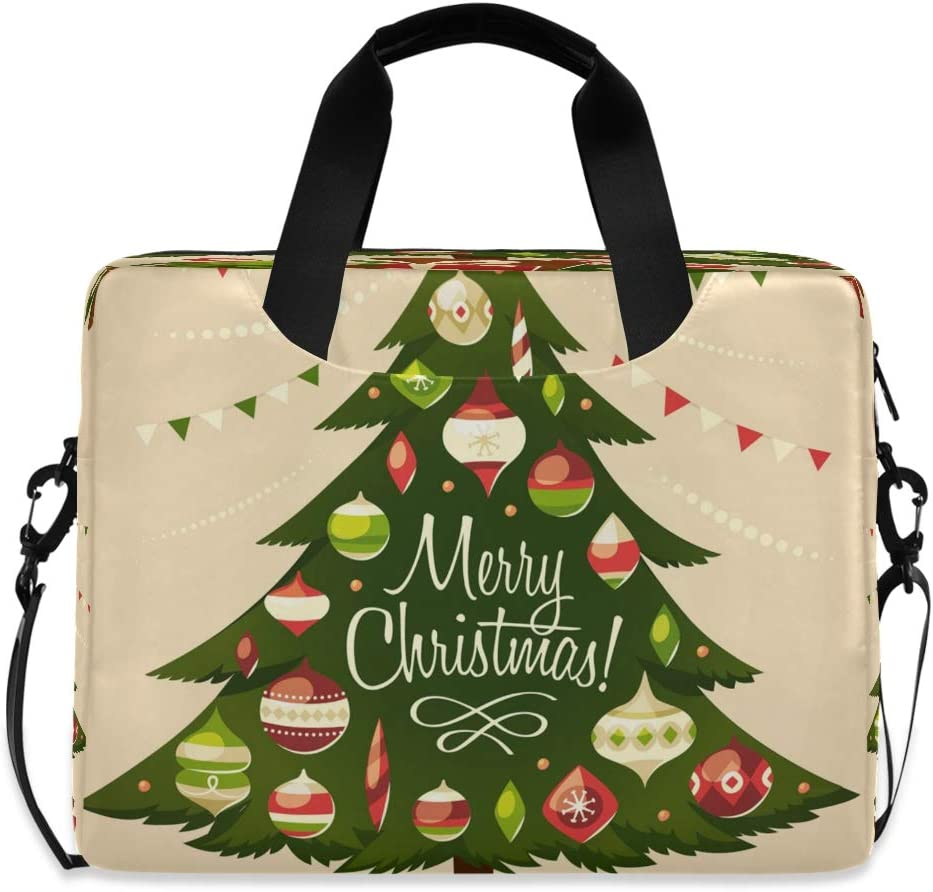 CCDMJ Laptop Max 71% OFF Case Christmas Tree Gift Laptops Shoulder List price Me Sleeve