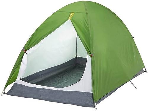 QB-tent Tente de Camping en Plein air 2 Personnes Double imperméable à la Pluie, Construire Rapidement