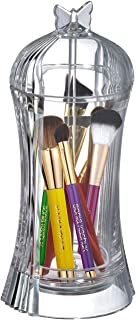 Amazing Abby Butterfly - Acrylic Makeup Brushes & Brow Pencils Holder w/Dust-Proof Cover