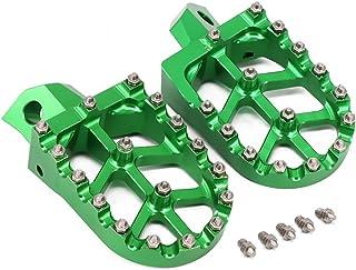 JFG RACING CNC Green Foot Pegs Footpegs Foot Rests Foot Pedals For Kawasaki KDX200 KDX220 95-03 KDX250 KX125 KX250 91-96 KX500 91-03