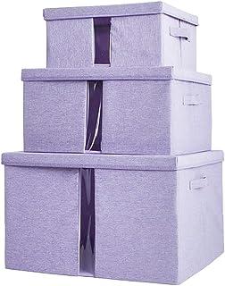 BACS Armoire en Tissu de ménage, boîte de Rangement pour vêtements, boîte de Rangement, très Grand Panier, boîte de Rangem...