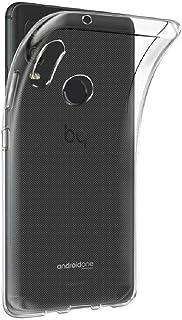 REY - Funda Carcasa Gel Transparente para BQ AQUARIS X2 - X2 Pro, Ultra Fina 0,33mm, Silicona TPU de Alta Resistencia y Flexibilidad