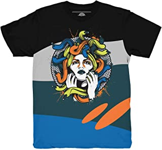 Yeezy 700 Wave Runner Medusa Waves Shirt to Match Yeezy 700 Wave Runner Sneakers