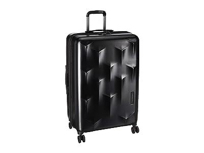 Hedgren 29 Carve LEX Expandable Spinner (Black) Luggage
