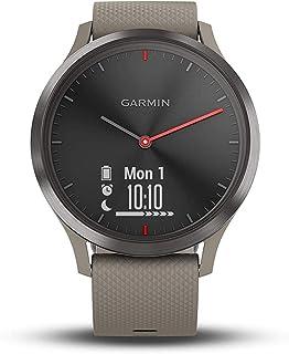 GARMIN(佳明) vivomoveHR 智能手表 活动量计 防水 【日本正品】 ブラック サンドストーン
