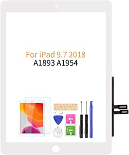 Compatible with IPad 9.7 2018 Touch Screen Digitizer Glass Replacement,for Ipad 6 6th Gen A1893 A1954 Touch Display Panel ...