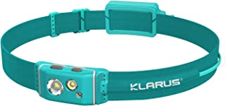 Klarus HR1 Pro 400 Lumens Ultra-Slim Rechargeable Running Headlamp, Cree LED Headlamp with Red Light, Compatible with AAA ...