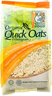 Radiant Organic Oats 500g (628MART) (Organic Quick Oats, 6 Pack)