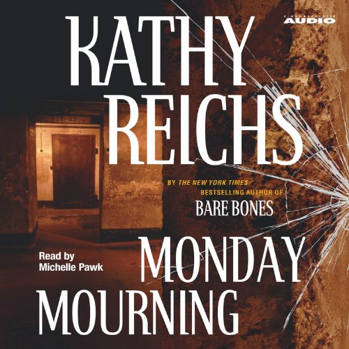 Monday Mourning audiobook cover art