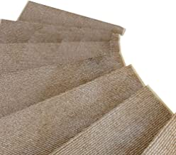 JIAJUAN Stair Carpet Treads Durable Non-Slip Self-Adhesive Staircase Ottomans Step Rugs Simple, 9mm, 5 Styles, 3 Sizes (Co...