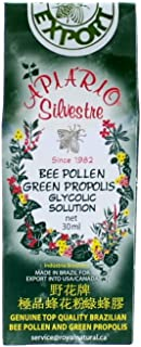 Apiario Silvestre Green Propolis & Bee Pollen, 30 ml, Royal Natural Products
