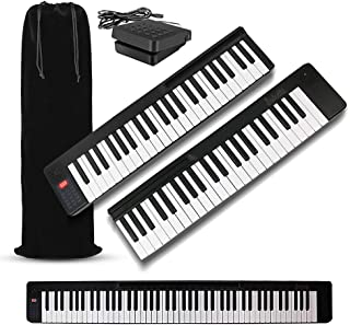 iLearnMusic DR-01 88-Keys Attachable Electric Piano Keyboard | Semi-Weighted 88 Key Electronic Piano Keyboard | Portable K...