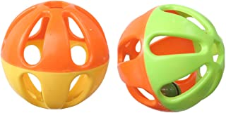 SuperBird Birdie Balls Foot Toy (4Pk), 7Cm
