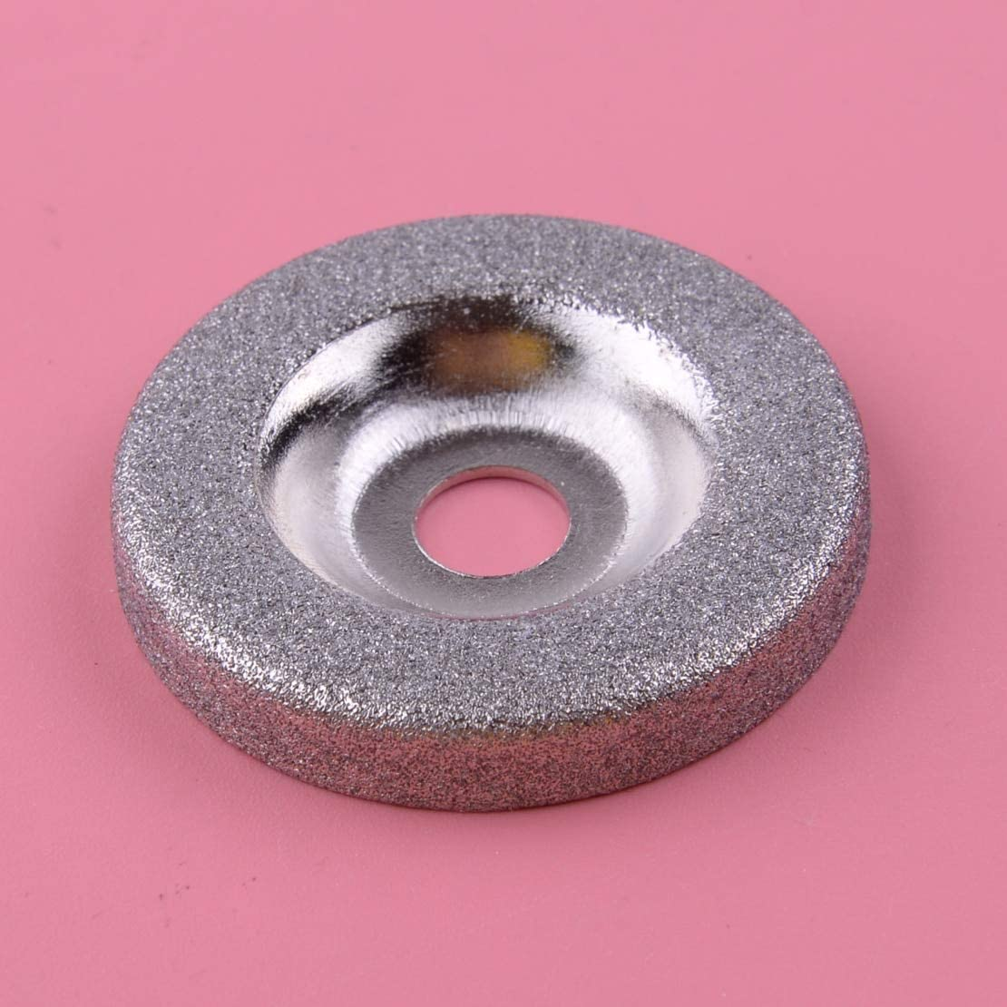 XKMY 50mm Diamond San Jose Mall Grinding Wheel Circle fo Fit Metal Direct sale of manufacturer Disc Silver
