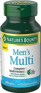 Nature's Bounty Complete Men's Multivitamin, 100 Tablets