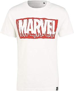 Recovered Marvel Slime Logo Crudo Camiseta