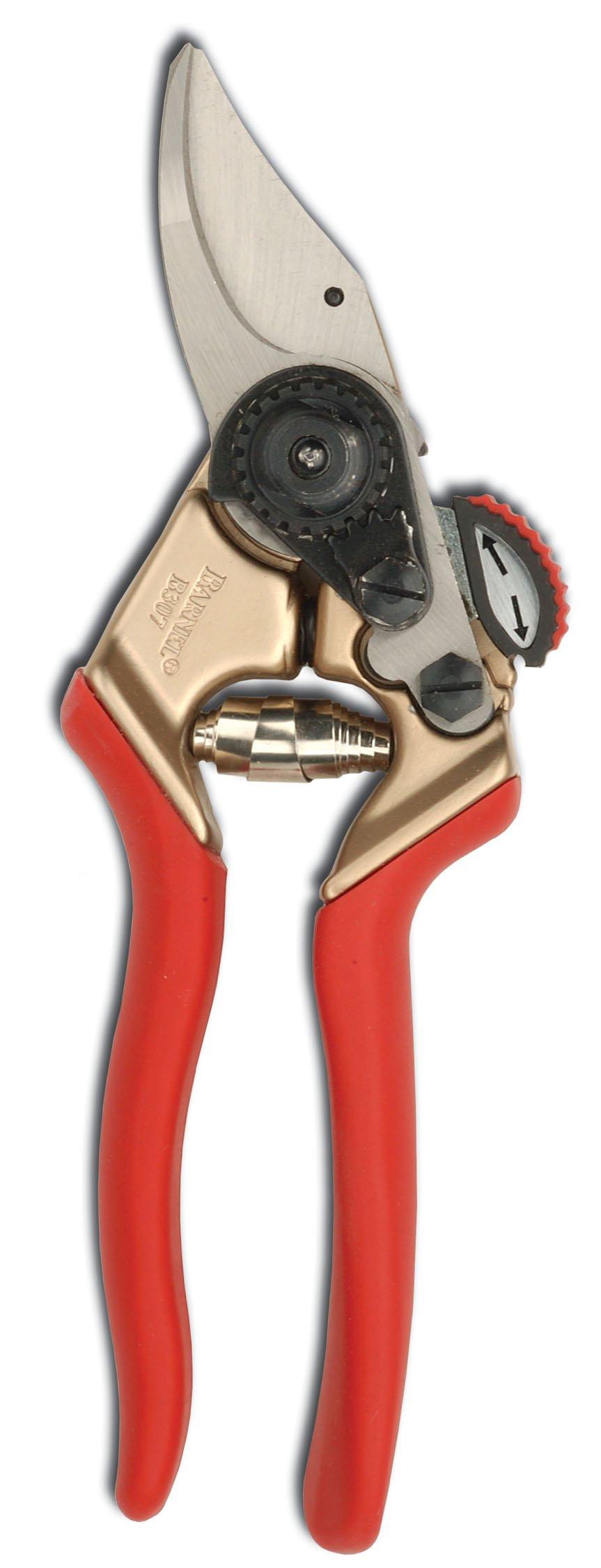 Barnel B307 7-Inch Ergonomic High Tech Bypass Garden Hand Pruner