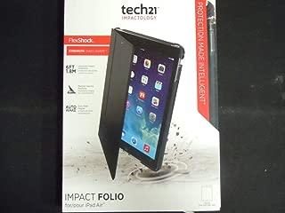 Tech21 Impact Folio case for iPad Air - Black (Renewed)