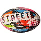 Optimum Street Rugby Ball-Multicolored, Taille 3