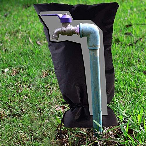 nohbi Thermoschutz für Garten-Wasserhahn, Frostschutz und kältebeständig Außen Wasserhahn Abdeckung, Verdickung Winterfester Beutel für Wasserhahn