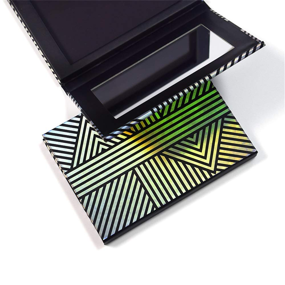 TUOKING Makeup Magnetic Palette with Mirror and Stic shopping 20Pcs Metal Very popular!