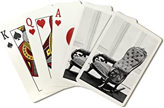Washington, DC - Lincoln's Chair from Ford's Theatre Civil War Photograph (Playing Card Deck - 52 Card Poker Size with Jokers)