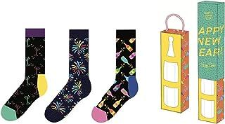 Happy Socks, Caja de regalo Año Nuevo SXNEW08-0100 36/40 Mujer 3 pares