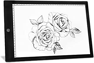 Onlylife 17-Inch A4 Size Portable LED Artcraft Tracing Light Pad Light Box Brightness Control with USB Adapter For Artists, Drawing, Sketching, Animation, X-ray Viewing, Sewing, Tattoo, Quilting Anima