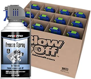 Max Professional 7777 Blow Off Freeze Spray 10 Oz - Pack of 12