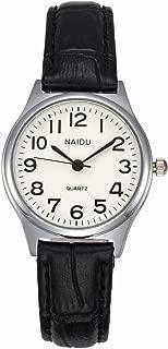 MANIFO Women's Classical Arabic Numerals Analog Quartz Wrist Watch, 3 ATM Water Resistant