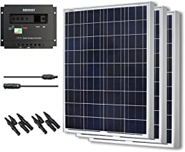 Renogy 300W Polycrystalline Bundle Solar Panel Kit with 3 packs 100W Solar Panels and Wanderer Li 30A PWM Charge Controller