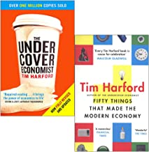 Tim Harford 2 Books Collection Set (The Undercover Economist & Fifty Things That Made The Modern Economy)